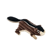 Tall Tails Chipmunk with Squeaker Plush Dog Toy