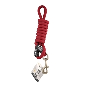 Tall Tails Red Dog Leash, For Dogs Over 50 lbs