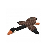 Tall Tails Goose with Squeaker Plush Dog Toy, 16