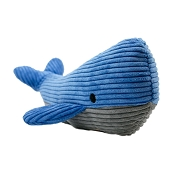 Tall Tails Whale Plush Squeaker Dog Toy