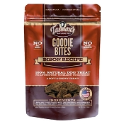 Tasmans Natural Goodie Bites Bison Recipe Dog Treats, 5-oz Bag