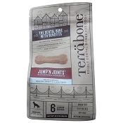 Terrabone Jump' N Joints Edible Dental Bones for Dogs, 6 Large Bones