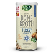 The Honest Kitchen Bone Broth Turkey Bone Broth with Ginger Dog & Cat Supplement, 5-oz