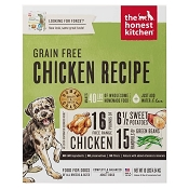 The Honest Kitchen Dehydrated Grain-Free Chicken Recipe (Force) Dog Food, 10-lb
