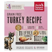 The Honest Kitchen Dehydrated Grain-Free Turkey (Grace) Recipe Cat Food, 4-lb Box