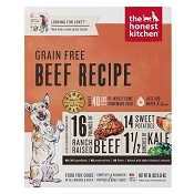 The Honest Kitchen Dehydrated Grain-Free Beef Recipe (Love) Dog Food, 10-lb Box