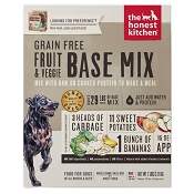 The Honest Kitchen Dehydrated Grain-Free Fruit & Veggie Base Mix Dog Food (Preference), 7-lb Box
