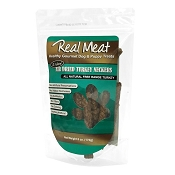 Real Meat Turkey Neckers Air-Dried Dog Treats, 6-oz bag