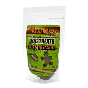 Real Meat Beef & Oatmeal Recipe with Spinach Alien Invasion Dog Treats, 16-oz Bag
