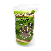 Real Meat Beef Recipe Air-Dried Raw Dog Food, 2 lb