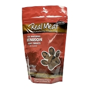 Real Meat Venison Jerky Dog Treats, 12-oz Bag