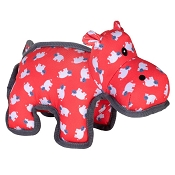 The Worthy Dog Hanna Hippo Dog Toy, Large
