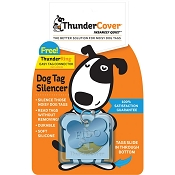 ThunderCover Dog Tag Silencer, Blue