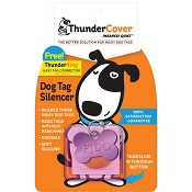 ThunderCover Dog Tag Silencer, Pink