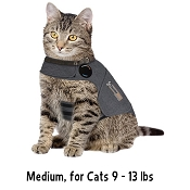 ThunderShirt Anxiety & Calming Solution for Cats, Medium