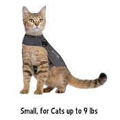 ThunderShirt Anxiety & Calming Solution for Cats, Small