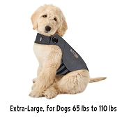 Thundershirt Heather Grey Anxiety Treatment for Dogs, Extra-Large