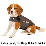 Thundershirt Heather Grey Anxiety Treatment for Dogs, Extra Small