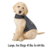Thundershirt Heather Grey Anxiety Treatment for Dogs, Large