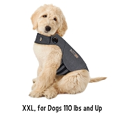 Thundershirt Heather Grey Anxiety Treatment for Dogs, XXL