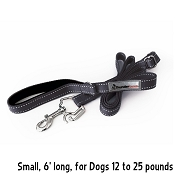 ThunderLeash Dog Leash Small, Black