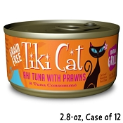Tiki Cat Manana Grill Ahi Tuna with Prawns in Tuna Consomme Canned Cat Food