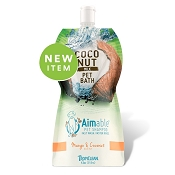 TropiClean Aimable Mango & Coconut Scent Pet Shampoo
