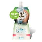 TropiClean Aimable Sweet Pea & Coconut Scent Pet Shampoo