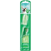 TropiClean Fresh Breath Finger Brushes for Dogs