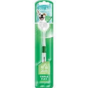 TropiClean TripleFlex Toothbrush for Small Dogs