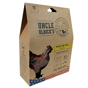 Uncle Ulrick's Chicken Jerky Dog Treats Made in USA, 12-oz