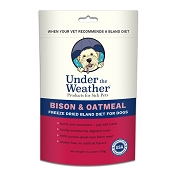 Under The Weather Bison & Oatmeal Freeze-Dried Bland Diet for Dogs