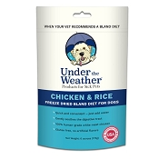 Under The Weather Chicken & Rice Freeze-Dried Bland Diet for Dogs