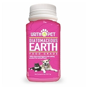 Urth Pet Food-Grade Diatomaceous Earth For Dogs & Cats, 4.9-oz
