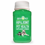 Urth Pet Hip & Joint Pet Health Supplement Powder for Dogs & Cats