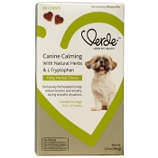 Verde Canine Calming Tasty Herbal Chews Dog Supplement, 60-Count