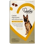 Verde Canine Hip & Joint Tasty Herbal Chews Dog Supplement, 60-Count