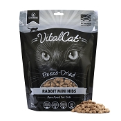 Vital Essentials Rabbit Entree Mini Nibs Entree Freeze-Dried Cat Food, 12-oz bag