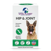 Vital Planet Hip & Joint Support for Dogs, 120 Chewable Tablets