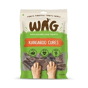 WAG Premium Cuts Kangaroo Lung Cubes Dog Treats, 200-Grams