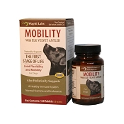 Wapiti Labs Mobility Joint Formula Dog Supplement, 120-Count