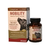 Wapiti Labs Mobility Joint Powder Dog Supplement, 15 Grams