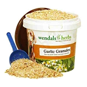 Wendals Herbs Garlic Granules for Dogs, 500-Grams
