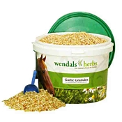 Wendals Herbs Garlic Granules for Horses, 2.2-lb