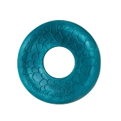 West Paw Design Zogoflex Air Dash Frisbee for Dogs, Peacock Color