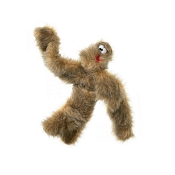 West Paw Design Tango Plush Dog Toy, Brown Fur