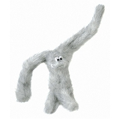 West Paw Design Tango Plush Dog Toy, White Fur
