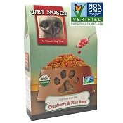 Wet Noses Cranberry & Flax Seed Organic Dog Treats