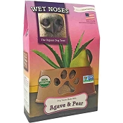 Wet Noses Agave & Pear Organic Dog Treats, 14-oz Box