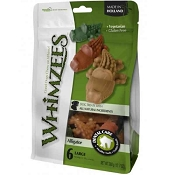 Whimzees Alligator Dental Dog Treats, Large
